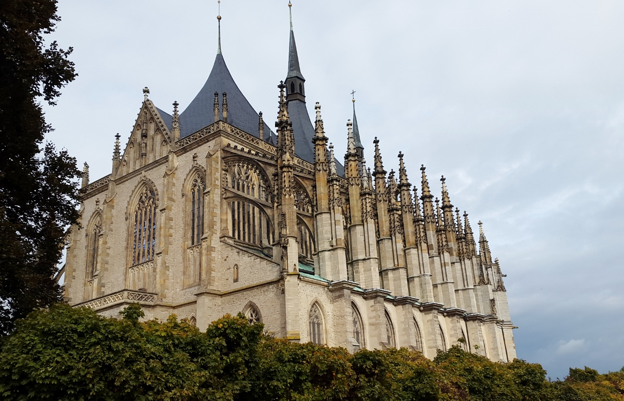 St.Barbara Cathedral in Kutná Hora